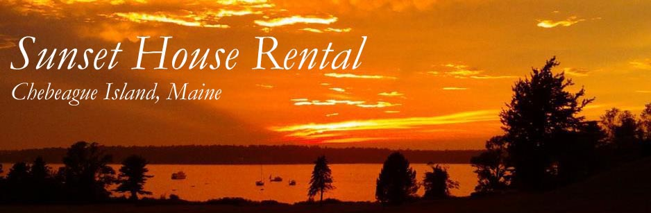Sunset House Rental, Chebeague Island, Maine